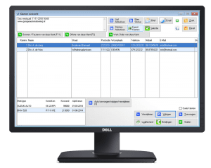 garage software klant beheer, klanten beheren garage software