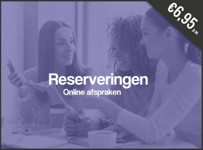 online reserveringen, online afspraken maken, onlineafspraken.nl, online afspraak programma