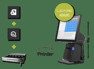 touchscreen kassasysteem, possyteem, kassasystemen