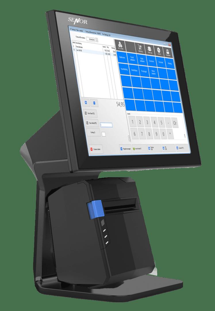 Kassasysteem, touchscreen kassa, possysteem, afrekenen POS