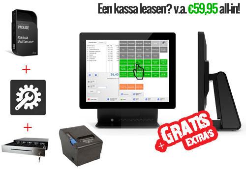 Compleet kassasysteem, touchscreen kassassysteem, kassa software, elo kassasysteem