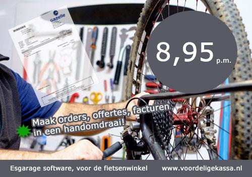 fietsenwinkel kassasysteem, fietsenwinkel kassa software, rijwiel software systeem, kassa software
