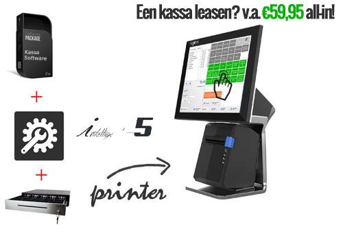 Touchsrceen kassasysteem, compleet kassasysteem, kassa software, kassa pc