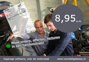 Motorzaak kassasysteem, motorwinkel kassa software, motorwinkel voorraadsysteem, kassa software voorraad