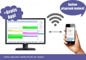 Online afspraken, online afsprakensysteem, online boekingssoftware, online boeking programma
