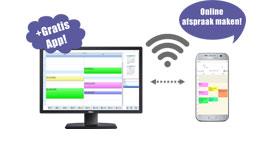 Salon software online afspraken, online afspraken systeem, online boekingssysteem, kapsalon online afspraken