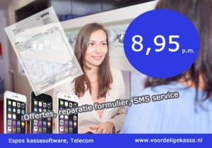 telefoonwinkel kassasysteem, telefoonwinkel kassa software, telefoonwinkel reparatie software, telefoonwinkel kassa programma, telecom kassa software